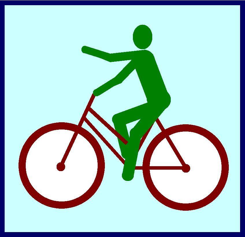 Orte zum Radfahren
